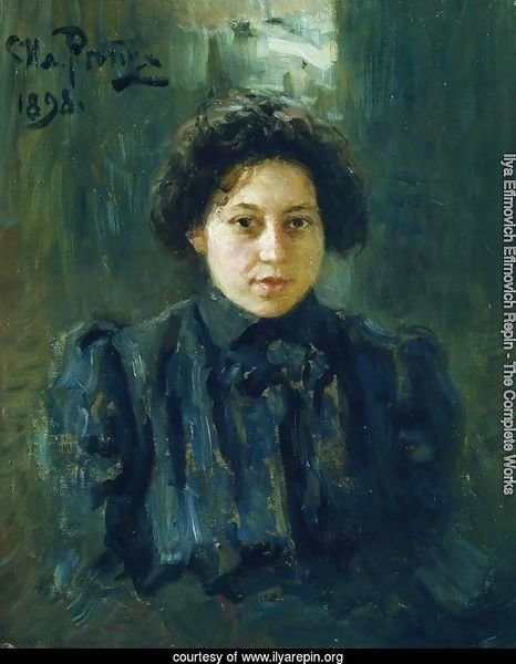 Portrait of the artist's daughter Nadezhda