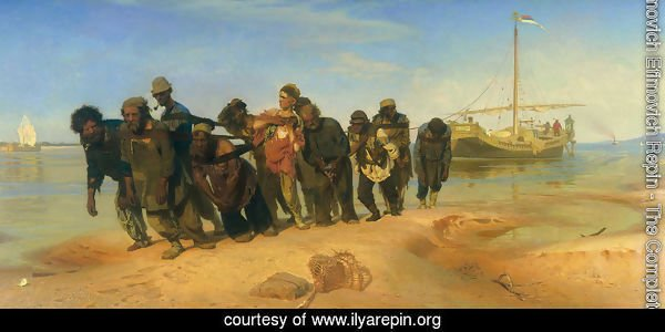 Barge Haulers on the Volga
