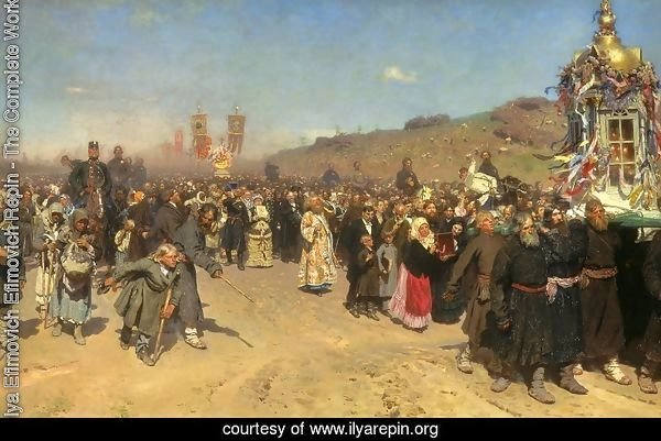 A Religious Procession in the Province of Kursk, 1880-83
