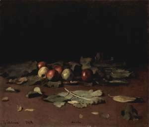 Ilya Efimovich Efimovich Repin - Apples and Leaves 1879