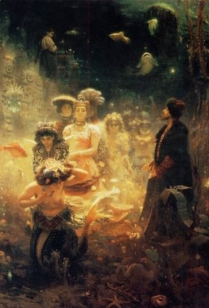 Ilya Efimovich Efimovich Repin - Sadko in the Underwater Kingdom 1876