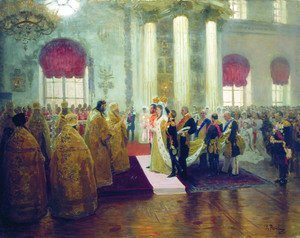 Wedding of Nicholas II and Alexandra Fyodorovna, 1894