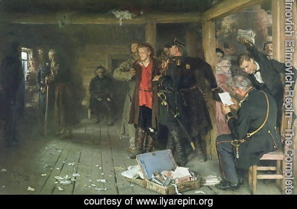 The Arrest of the Propagandist, 1880-89