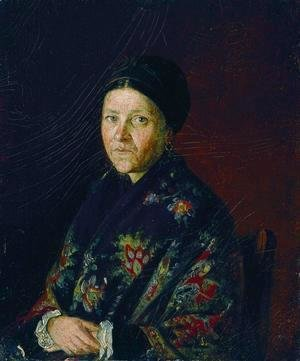 Portrait of A.S. Bocharova, The Artist's Aunt