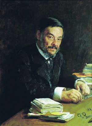 Portrait of Ivan Mikhaylovich Sechenov, Russian physiologist