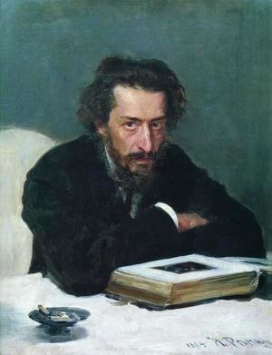 Ilya Efimovich Efimovich Repin - Portrait of composer and journalist Pavel Ivanovich Blaramberg