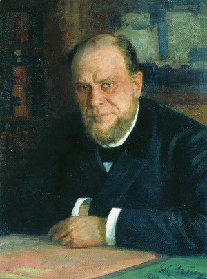 Portrait of lawyer Anatoly Fyodorovich Koni