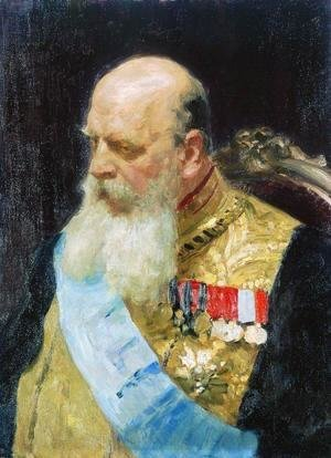 Portrait of member of State Council Count Dmitri Martinovich Solsky