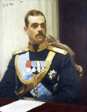 Portrait of member of State Council Grand Prince Mikhail Aleksandrovich Romanov