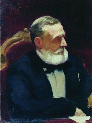 Portrait of member of State Council Ivan Ivanovich Shamshin