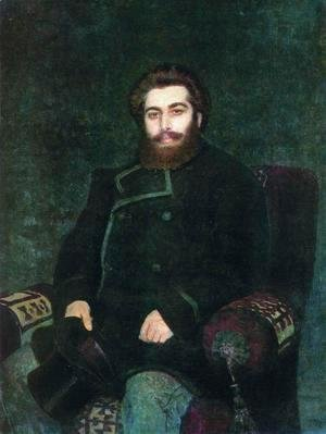 Portrait of painter Arkhip Ivanovich Kuindzhi