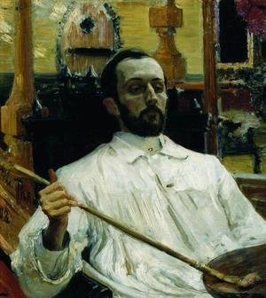 Portrait of painter Dmitri Nikolayevich Kardovsky