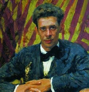 Ilya Efimovich Efimovich Repin - Portrait of sketcher, painter and theatre scenographer Nikolai Vladimirovich Remizov