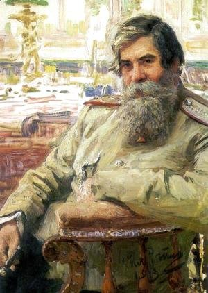 Portrait of the neurophysiologist and psychiatrist Vladimir Mikhailovich Bekhterev
