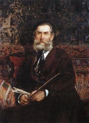 Portrait of the painter Alexey Petrovich Bogoliubov 2