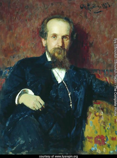 Portrait of the painter Pavel Petrovich Chistyakov