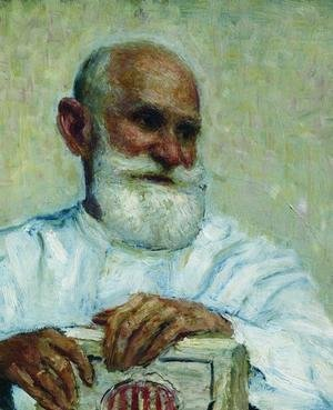 Portrait of the physiologist Ivan Petrovich Pavlov