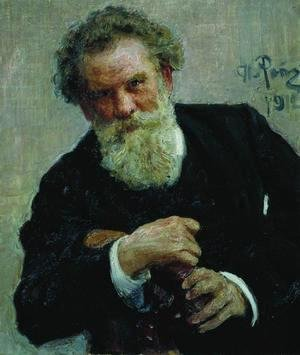 Portrait of writer Vladimir Galaktionovich Korolenko