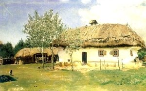 Ukrainian peasant house
