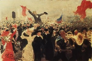 Ilya Efimovich Efimovich Repin - Demonstration on October 17, 1905 2
