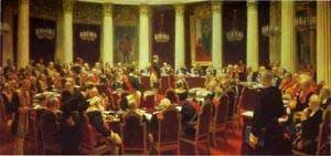 Ilya Efimovich Efimovich Repin - Ceremonial Meeting Of The State Council 1903