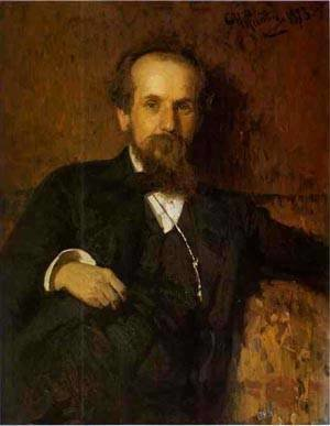 Portrait Of The Artist Pavel Tchistyakov 1878