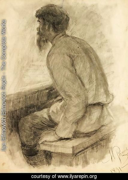Portrait of a Man seated