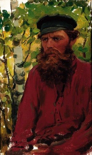 Portrait of a Russian Peasant