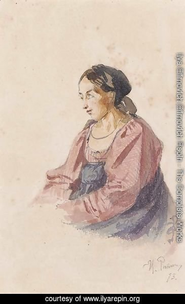 Portrait of an Italian Peasant Woman