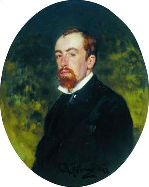 Portrait of the Artist Vasily Polenov