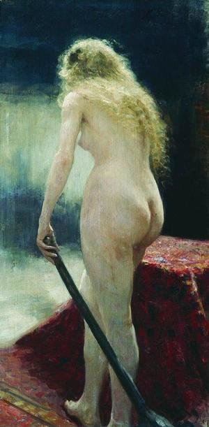 Ilya Efimovich Efimovich Repin - The model
