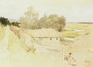 Ilya Efimovich Efimovich Repin - The Village of Mokhnachi near Chuguyev