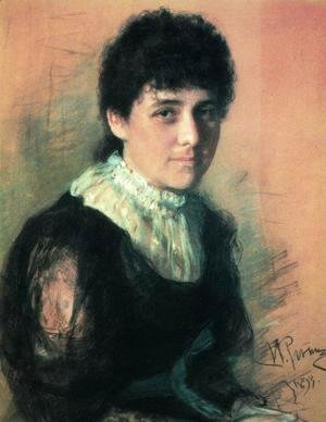 Portrait of the sculptor E.P.Tarhanova-Antokolskaya