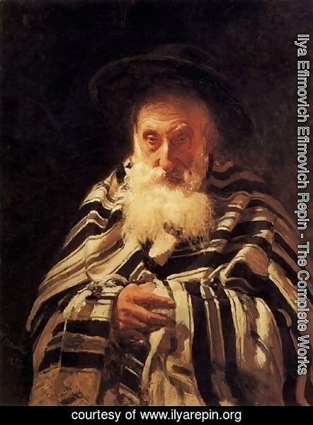 Ilya Efimovich Efimovich Repin - Jew praying