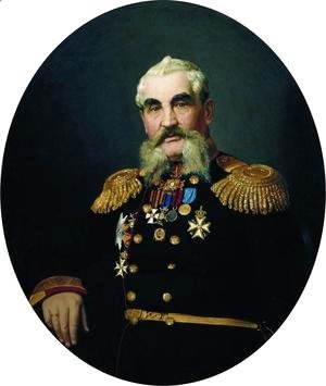 Ilya Efimovich Efimovich Repin - Portrait of the military