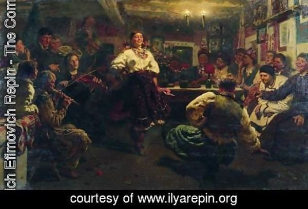 Ilya Efimovich Efimovich Repin - Evening party