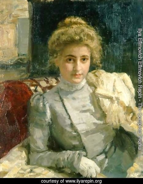 The Blond (Portrait of Tevashova)