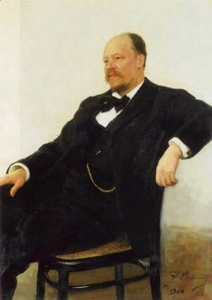 Portrait of the composer Anatoly Konstantinovich Lyadov