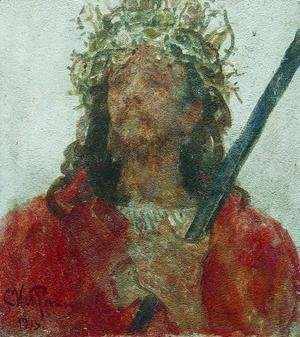Ilya Efimovich Efimovich Repin - Jesus in a crown of thorns