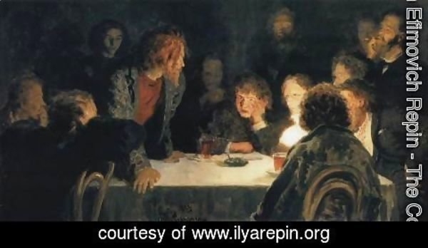 Ilya Efimovich Efimovich Repin - The Revolutionary Meeting