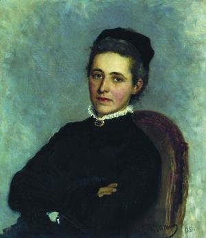 Portrait of of Julia Bogdanovna Repman, born Krause, wife of Dr. A.H. Repman
