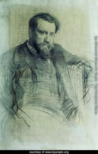 Portrait of the Artist Valentin Serov 2
