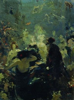 Ilya Efimovich Efimovich Repin - Sadko in the Underwater Kingdom
