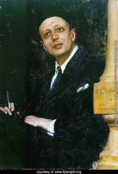 Portrait of the Poet Voinov