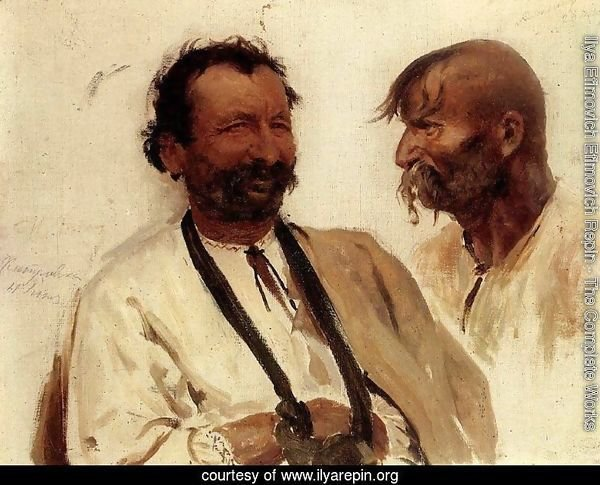 Two Ukrainian peasants