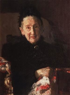 Portrait of L.I. Shestakova, sister of composer Mikhail Glinka