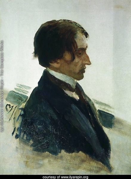 Portrait of the Artist Isaak Brodskiy
